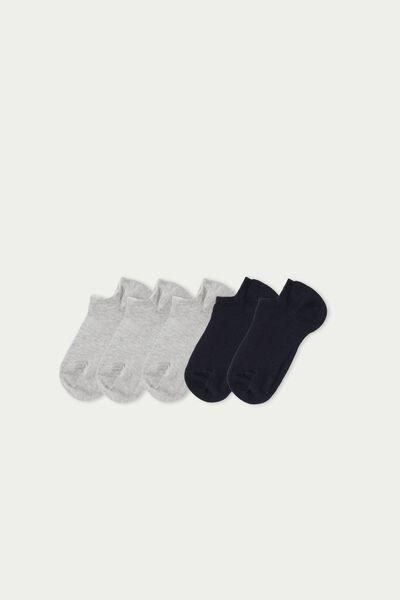 5 X Cotton Trainer Socks