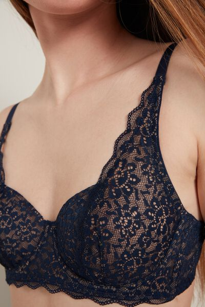 Paris Recycled Lace Unpadded Balconette Bra