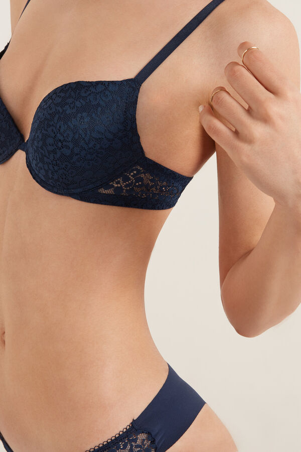 Los Angeles Recycled Lace Super Push-Up Bra