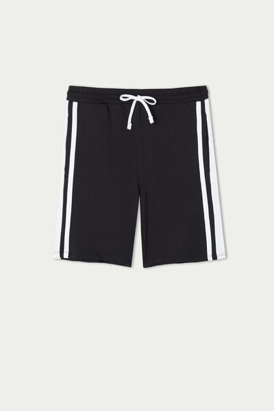 Fleece Shorts with Side Bands