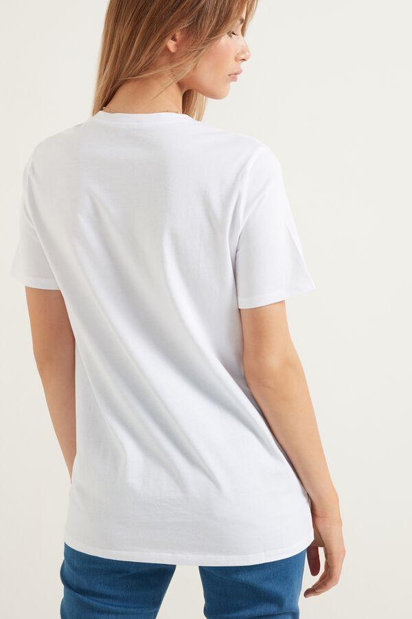 Bee Print Organic Cotton T-Shirt