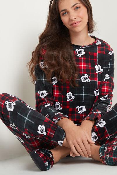 Mickey Mouse Hosszú Mikropolár Pizsama