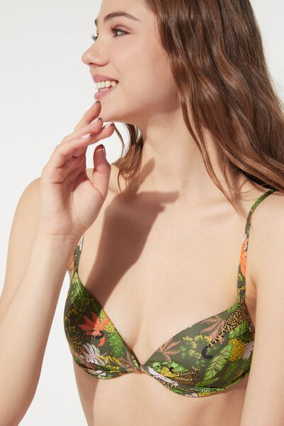 Jungle Safari Push-Up Bikini