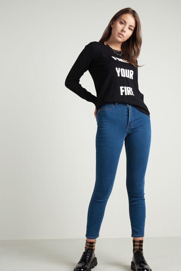 Jeggings Talle Alto Efecto Push-Up