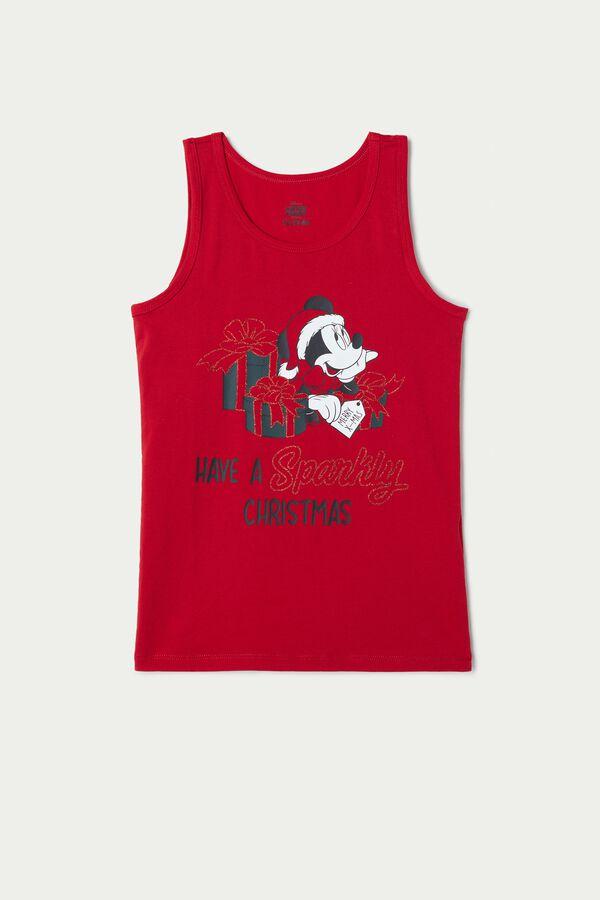 Chemisette en Coton Mickey Mouse