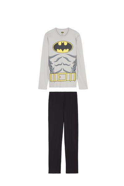 Мужская Длинная Пижама Batman