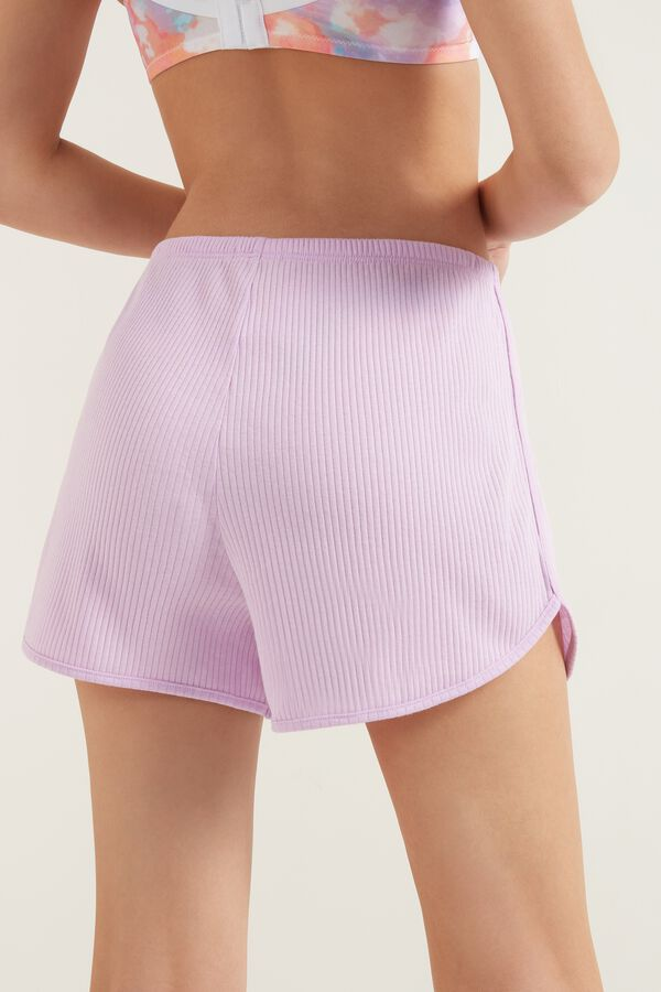 SHORTS SHORT RIBBED