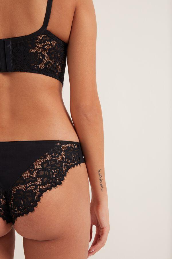 Venice Lace Laser-Cut Panties