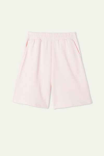 Light Fleece Bermuda Shorts with Pockets