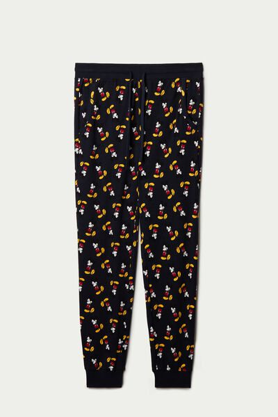 Men's Mickey Mouse Long Cotton Trousers