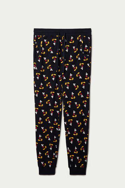 Pantalone Lungo Cotone Mickey Mouse