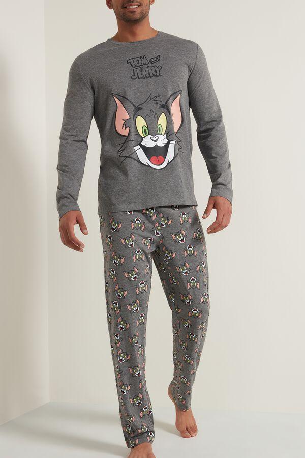 Men's Tom and Jerry Long Pyjamas