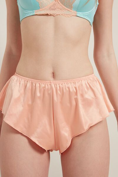 Shorts aus Satin Chic Satin