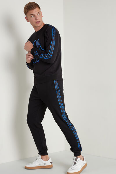 Kappa Fleece Pants with Pockets and Side Bands