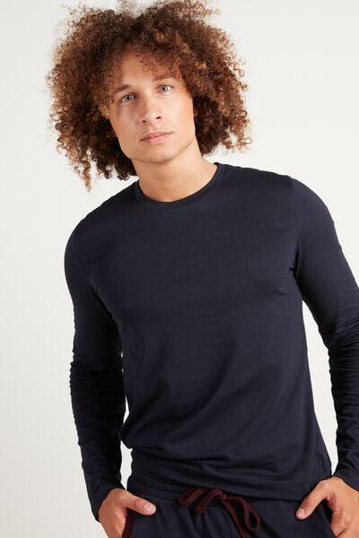 Βαμβακερή Μακρυμάνικη Μπλούζα