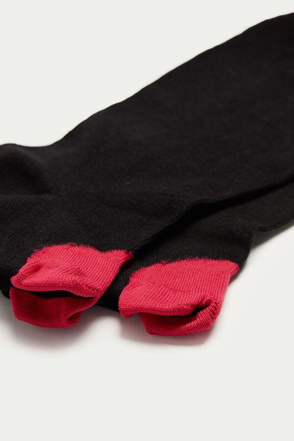 Nízke Vzorované Ponožky