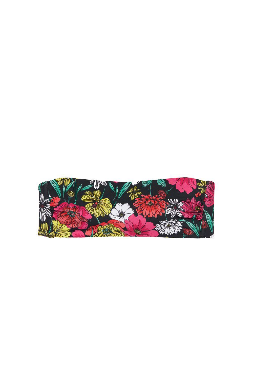 Spring Blossom Bandeau Bikini Top