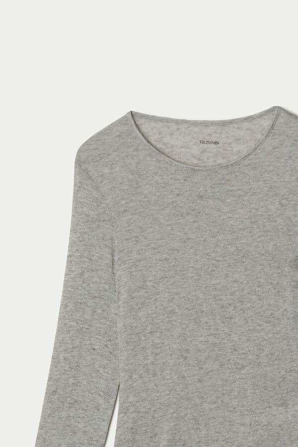 Merino Wool Blend Long Sleeve Bodysuit