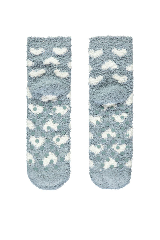 Non-Slip Socks with Appliqués