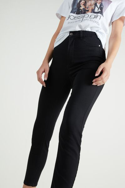 Push-Up Effect High-Waist Jeggings