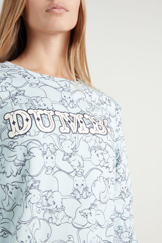 Pijama Largo de Algodón Disney Dumbo