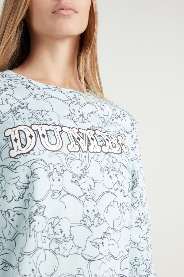 Long Cotton Disney Dumbo Pajamas