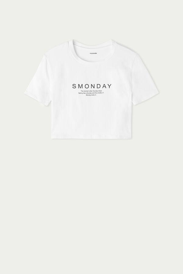 T-shirt Court avec Imprimé