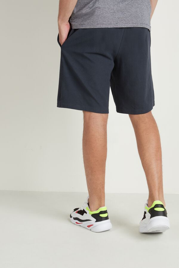 Cotton Pique Shorts