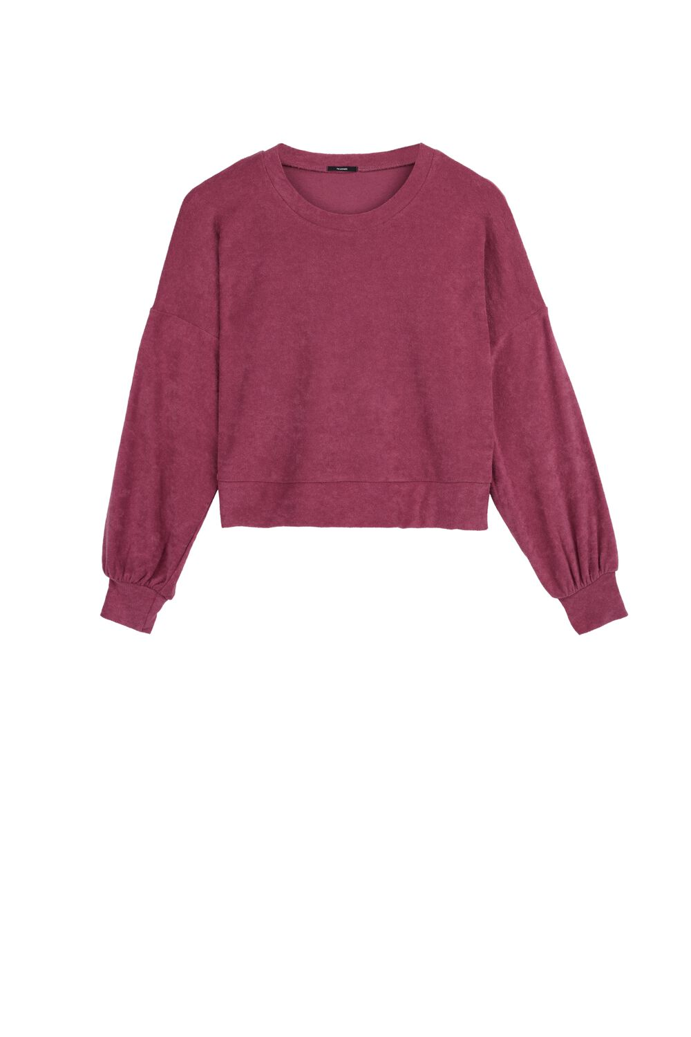 Crop Sponge Sweatshirt