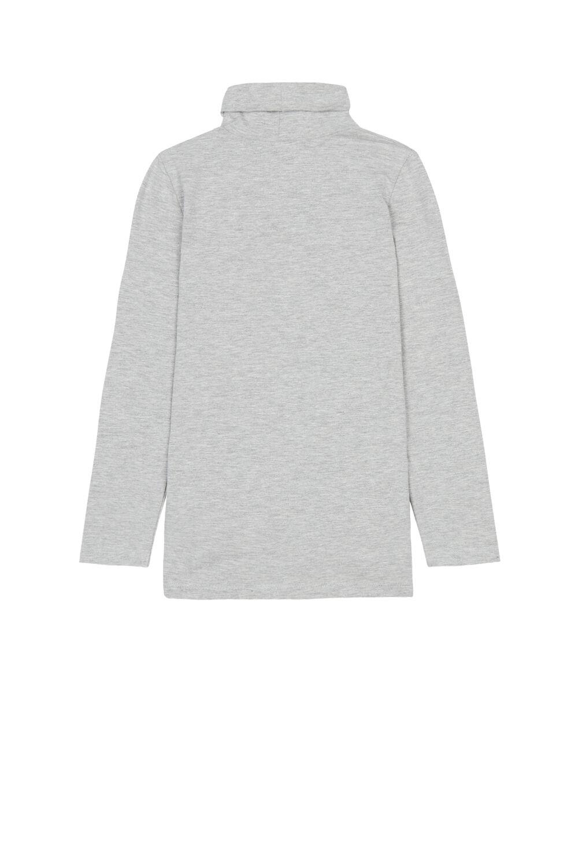 Termo bavlnený top s dlhými rukávmi a vysokým golierom