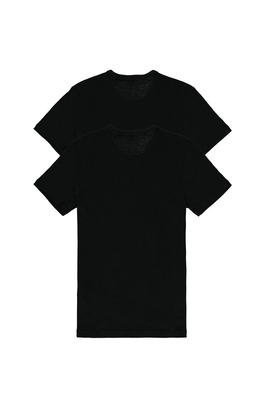 2 X Žebrované Triko s Krátkým Rukávem Multipack