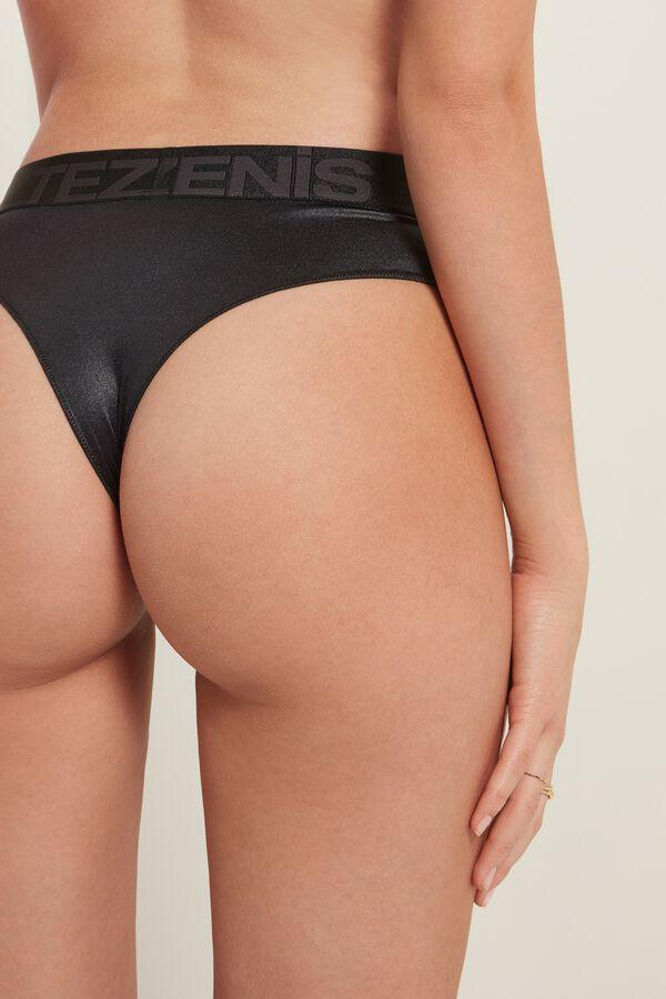 Culotte Brésilienne Taille Haute Glamour Active