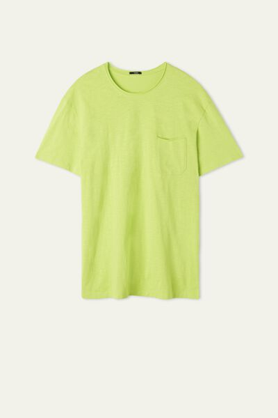 Cotton T-Shirt with Pocket
