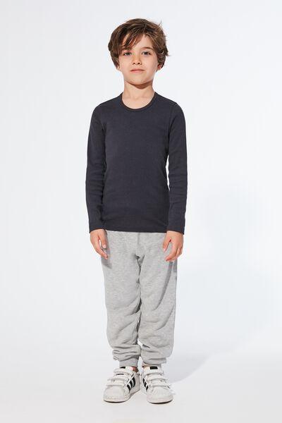 T-Shirt à Manches Longues en Coton Chaud