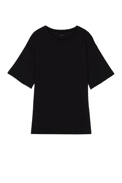 T-shirt z Bawełny Oversize