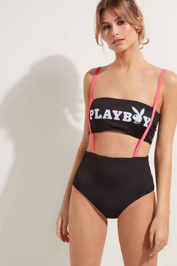 Playboy High-Waisted Bikini Bottoms