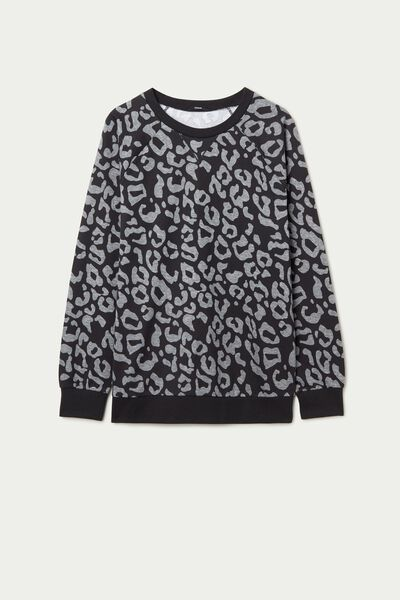 Printed Long Sleeve Top
