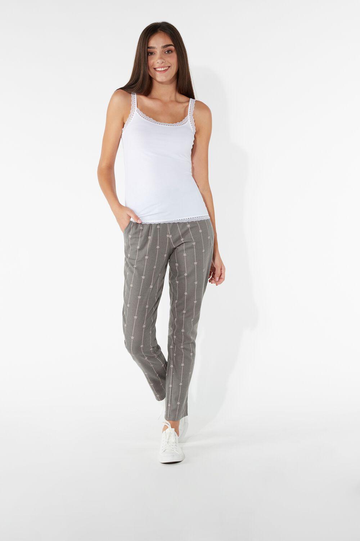 Long Flannel Trousers