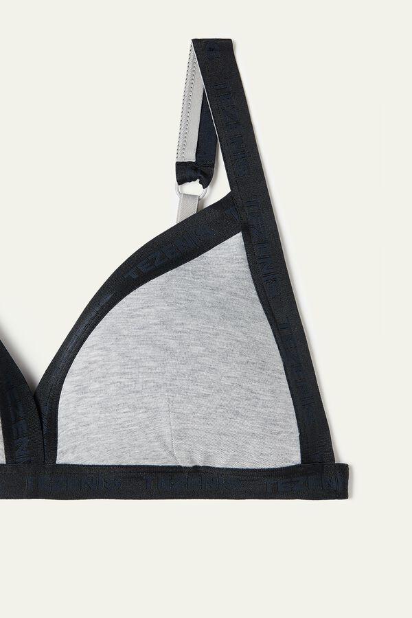 Soft Active Padded Triangle Bra