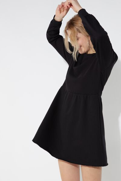 Long-Sleeved Sweatshirt Dress