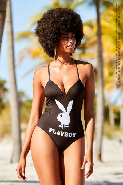 Playboy One-Piece Swimsuit