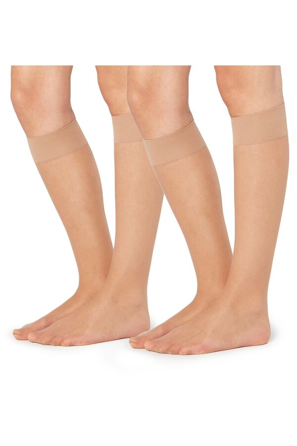 2 X 20 Den Appearance Sheer Knee-Highs