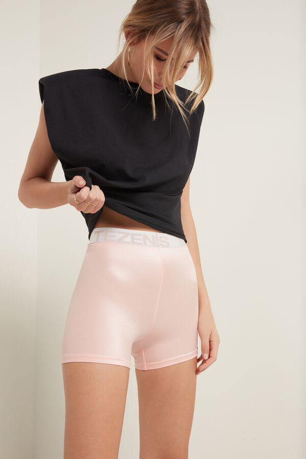 Glamour Active High-Waisted Cycling Shorts