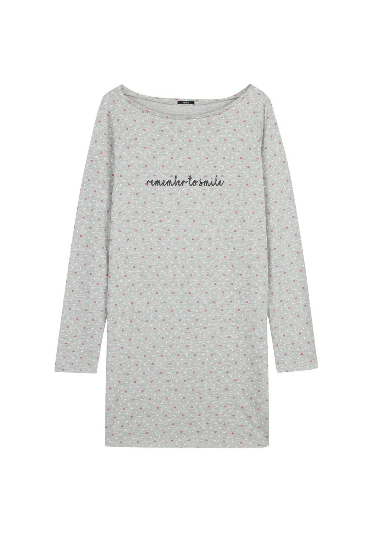 Smile Print Nightgown