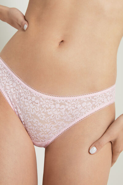 Recycled Lace Brazilian Briefs