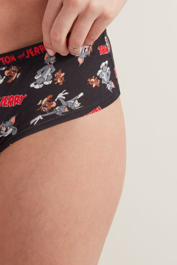 Nohavičkové Kalhotky s Potiskem Tom and Jerry
