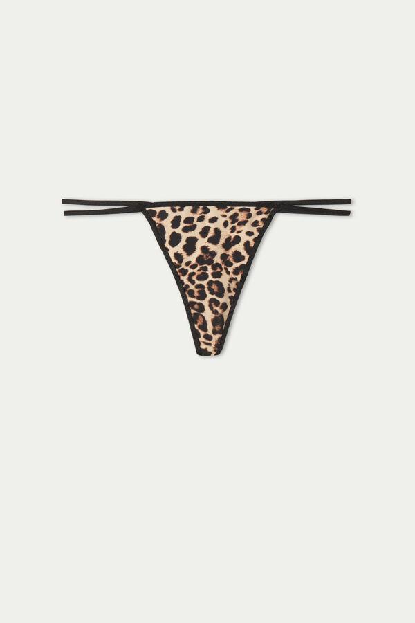 Tanga Imprimeu Leopard