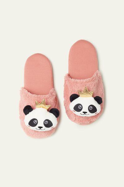 Pantofle s Pandou