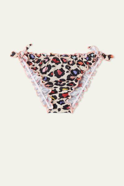 Girl's Crinkled Bikini Bottoms