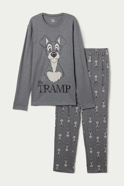 Pijama Comprido Homem Disney O Vagabundo